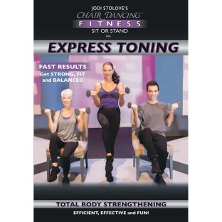 Chair Dancing Fitness Sit or Stand for Express Toning DVD - Image 1 of 1