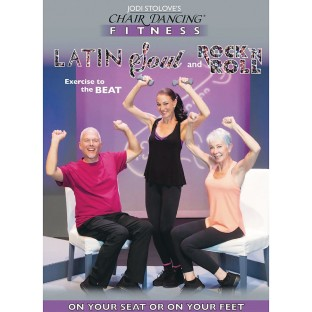 Chair Dancing Fitness Latin, Soul and Rock <ft/>n Roll DVD - Image 1 of 1