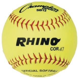 Rhino® Softball, 12