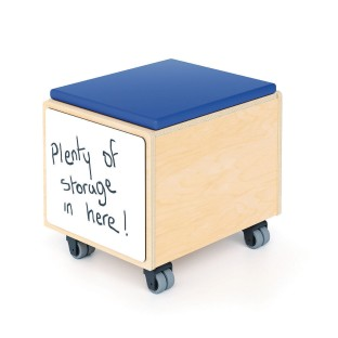 Whitney Brothers® STEM Activity Mobile Storage Bin Seat - Image 1 of 3