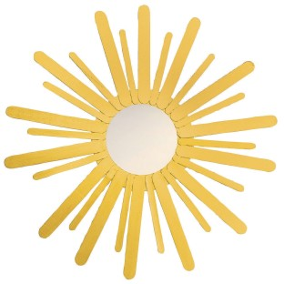 Sunburst Mirror Craft Kit (Pack of 12) - Image 1 of 2