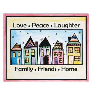 Easy Way Pictures Craft Kit: Love, Peace, Laughter (Pack of 24) - Image 1 of 2