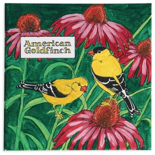 American Goldfinch Painting Craft Kit (Pack of 12) - Image 1 of 2