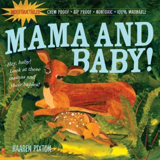 Mama & Baby Indestructible Book - Image 1 of 1