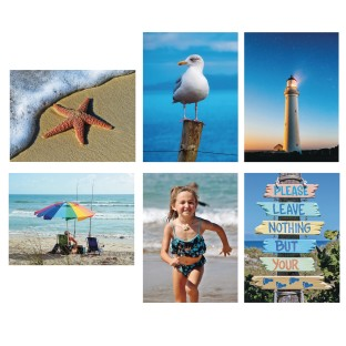 S&S® Aquapaintings™ By The Sea (Pack of 12) - Image 1 of 3