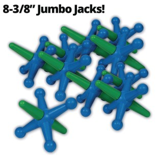 Jumbo Jacks (Set of 10) - Image 1 of 6