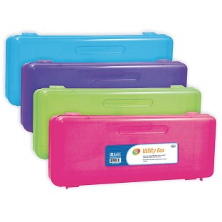 Ruler Length Pencil Storage Box (Pack of 12) - Image 1 of 2