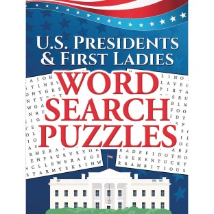 Word Search Puzzles Book: U.S. Presidents & First Ladies - Image 1 of 1