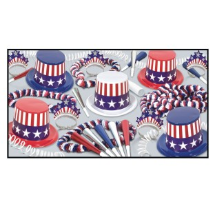 USA Party Easy Pack for 50 - Image 1 of 1