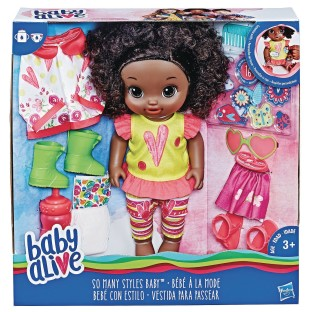 Baby Alive® So Many Styles Doll - Image 1 of 1