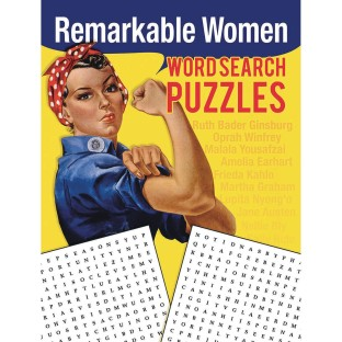 Word Search Puzzles Book: Remarkable Women - Image 1 of 1