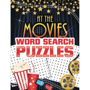 Word Search Puzzles Book: At the Movies - Image 1 of 1