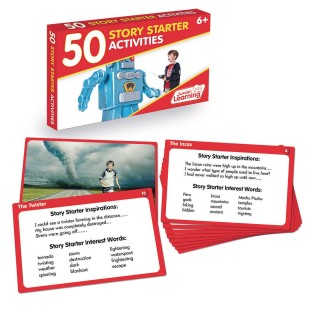 50 Story Starter Activity Cards - Image 1 of 1
