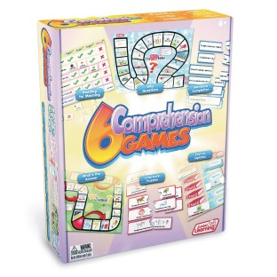 Junior Learning 6-Game Set, Comprehension - Image 1 of 1