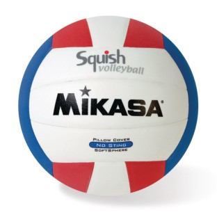 Mikasa® Squish Volleyball Red/White/Blue - Image 1 of 1