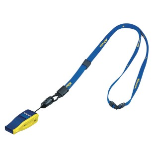 Mikasa® FIVB Whistle & Lanyard, Navy/Yellow - Image 1 of 1