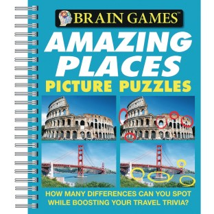 Pictures Puzzle Book: Amazing Places - Image 1 of 1
