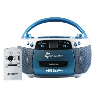 AM FM MP3 Cassette CD Player with USB Remote - Image 1 of 3