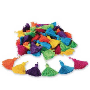 Color Splash!® Tassel Assortment (Pack of 72) - Image 1 of 1