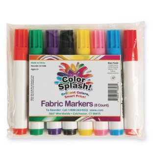 Color Splash!® Fabric Markers (Set of 8) - Image 1 of 1