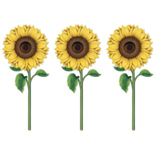 Sunflower Cutouts (Pack of 12) - Image 1 of 1
