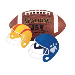 Football Fun Helmets Craft Kit (Pack of 12) - Image 1 of 2