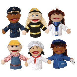 Career Puppets (Set of 6) - Image 1 of 1