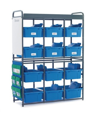 Copernicus Educational Products Storage Organizer for Leveled Literacy, Green - Image 1 of 1