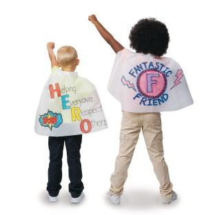 Color-Me™ Super Hero Mini Capes, 18