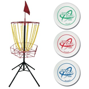 Disc Golf Target and Disc Set - Image 1 of 1