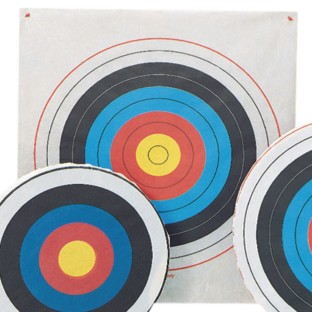 Archery Target Square, 48