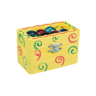 Small Wooden Boxes Craft Kit (Pack of 12) - Image 1 of 2