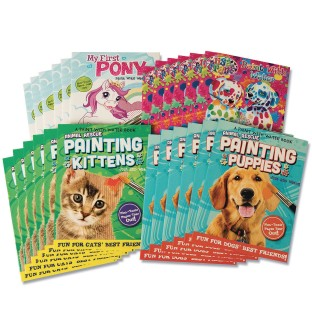 Paint with Water Activity Books Value Pack (Pack of 24) - Image 1 of 5