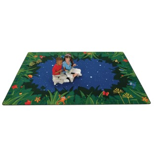 Peaceful Tropical Night Play Carpet - Image 1 of 1
