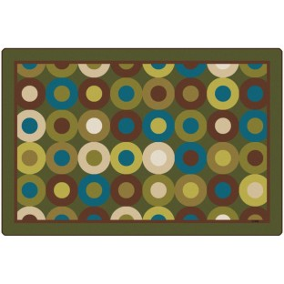 Calming Circles Rug - Image 1 of 1