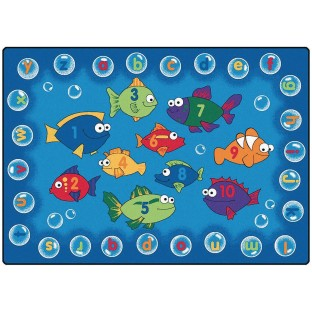 Fishing For Literacy Rug - Image 1 of 1
