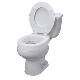 DMI Hinged Toilet Seat Riser - Image 1 of 2
