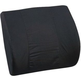 DMI Memory Foam Lumbar Cushion, Black - Image 1 of 1
