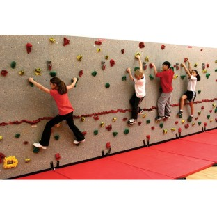 Traverse Climbing  Wall Package, 20' - Image 1 of 3