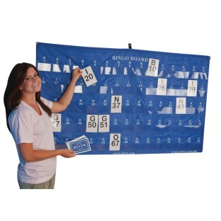 Manual Bingo Masterboard Pocket Chart - Image 1 of 3
