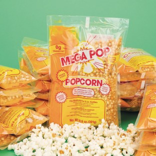 Mega Pop® Corn, Oil and Salt Kit for Popcorn Makers with a 8 oz. Kettle (Case of 24) - Image 1 of 1