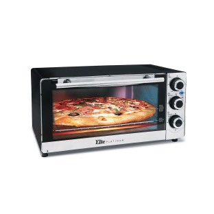 Elite Platinum Stainless Steel 6-Slice Convection Toaster Oven - Image 1 of 3