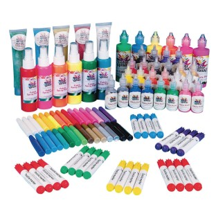 Color Splash!® Fabric Painting Easy Pack - Image 1 of 1