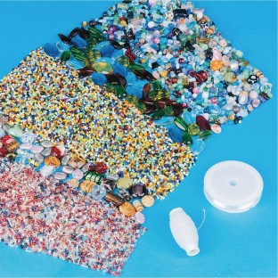 Color Splash!® Glass Bead Easy Pack - Image 1 of 1