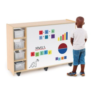 Whitney Brothers® Play Table with Storage and Write & Wipe Top - Image 1 of 3