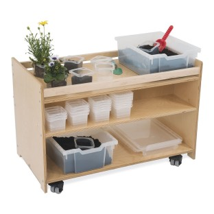 Whitney Brothers® Mobile Garden Center with Trays, Containers and Lids - Image 1 of 3