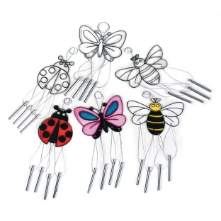 Wind Chime Sun Catchers, Bugs (Pack of 12) - Image 1 of 1