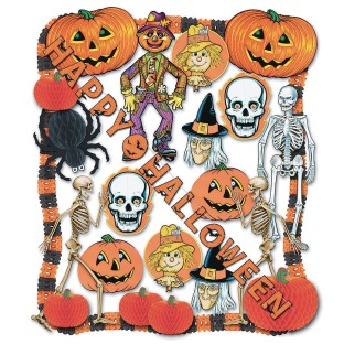 Halloween Decorating Kit - Image 1 of 1