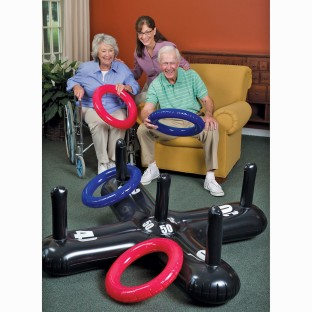 Jumbo Inflatable Ring Toss - Image 1 of 2