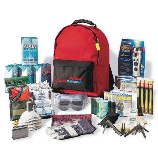 Deluxe 4-Person Emergency Kit (3 Day Backpack) - Image 1 of 1